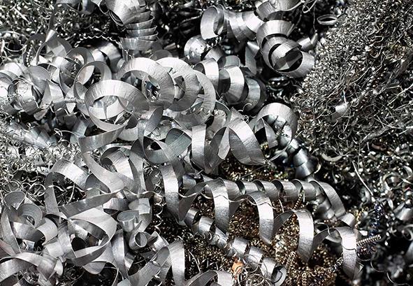 Лом стружки алюминиевой