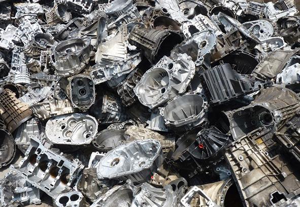 Лом алюминия моторного